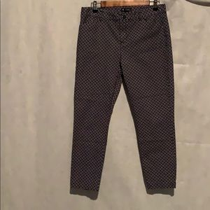 Gap Slim City Crop pants size 8R Made in Vietnam